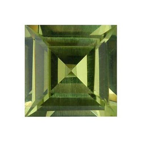 Square Synthetic Peridot