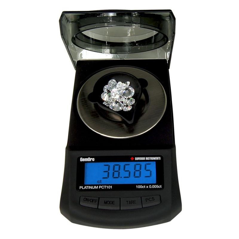 Gemoro Platinum® Pct101 Premium Carat Scale