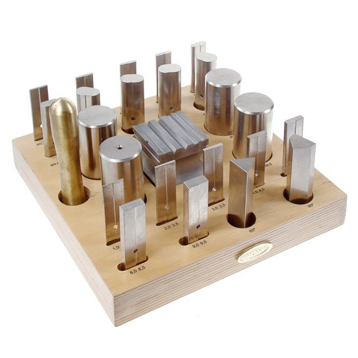 25 Piece Forming Tool And Block Set