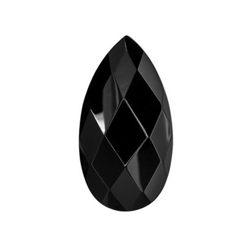 Pear Shape Faceted Onyx