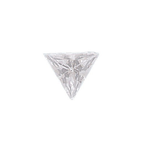 Aaa Rated Triangle Cubic Zirconia