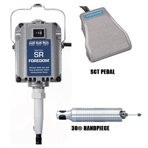 Foredom® Sr Motor + Sct Pedal + #30 Handpiece
