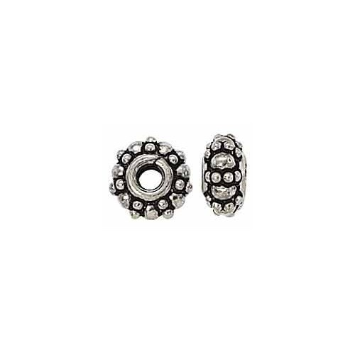 Sterling Silver Bali Bead Spacer - 9mm