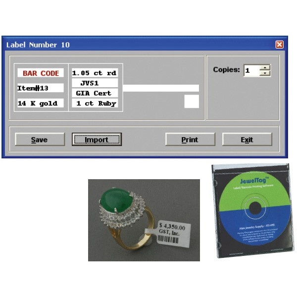 Jeweltag Software