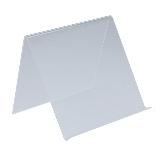 """Acrylic Easels For Flat Displays & Pads, 8"""" L X 7"""" w"""