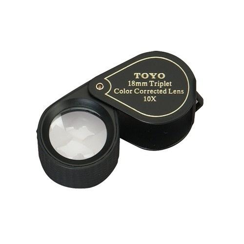 Toyo 10X Triplet Loupe - Black