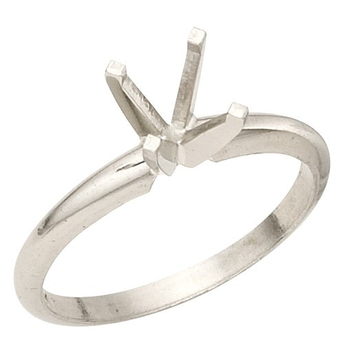 0.50Ct 4-Prong Round Solitaire Mounting Size 5.5