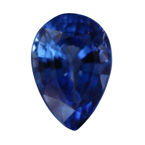 Pear Shape Synthetic Sapphire
