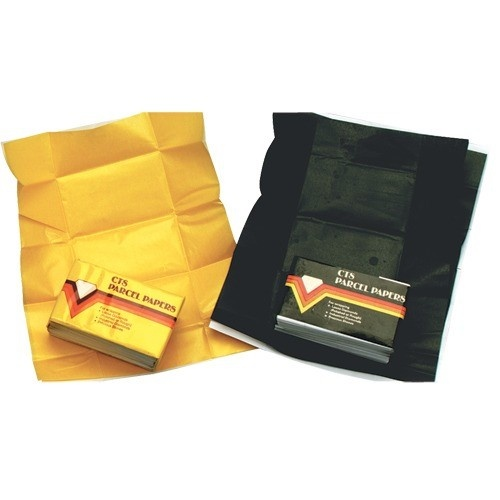 """Yellow Parcel Papers For Colored Stones (bx/25), 3"""" L X 1.63"""" W"""