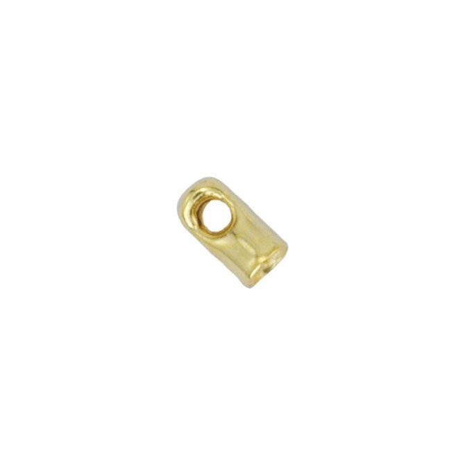 Light Tube Cord End - Gold Plated 55Pc