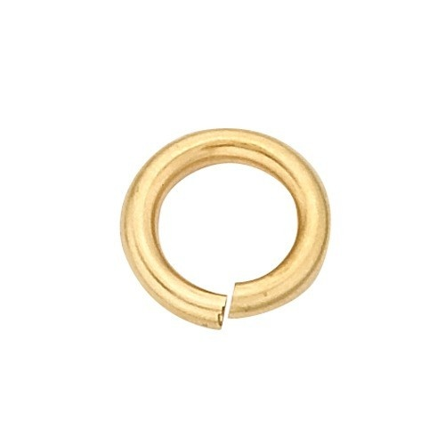 14K Yellow Open Jump Ring