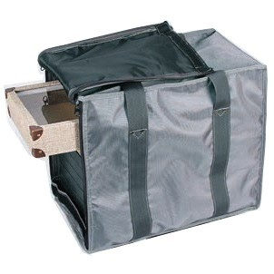 Soft Gray Vinyl Carrying Cases