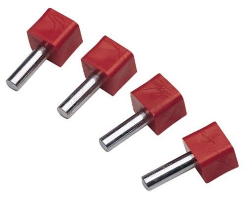 """Grs 003-546 1/4"""" Super Pins, Pk/4"""