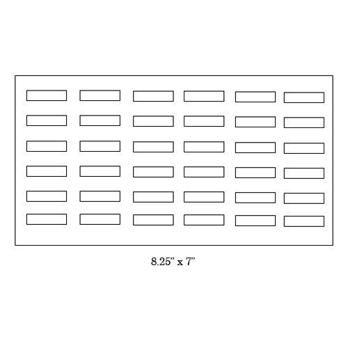 36-Ring Tray W/ Lid Interior