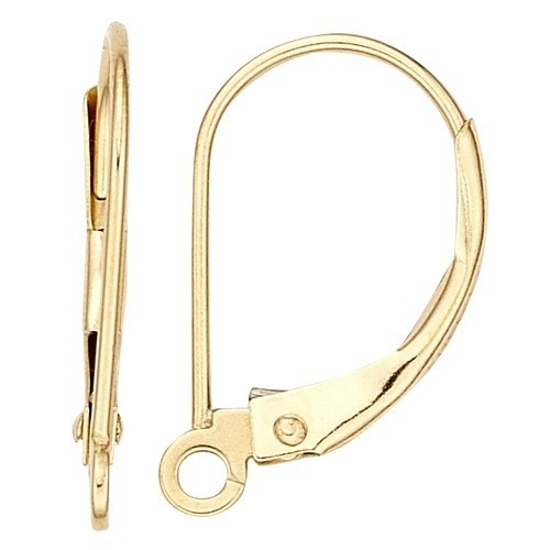 Lever Back Open Vertical Ring