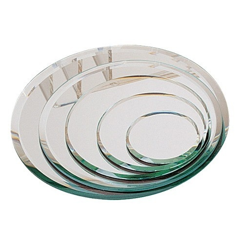 """5-Piece Set Of Oval Beveled Mirrors, 2 - 8"""" w"""