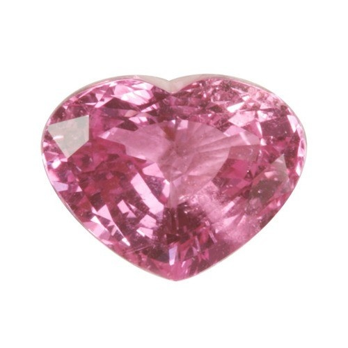 Heart Shape Synthetic Rose Zircon