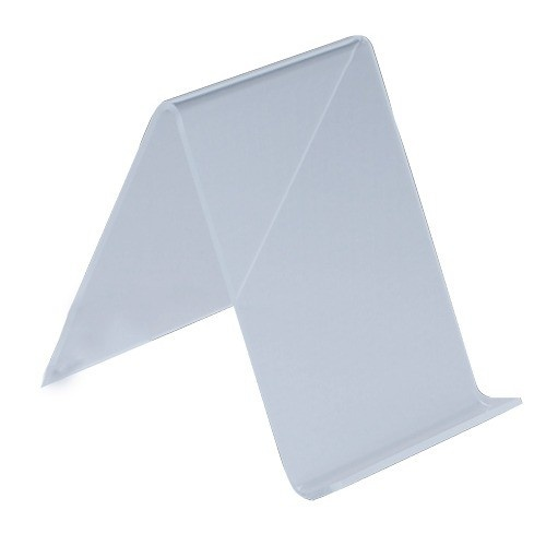 """Acrylic Easels For Flat Displays & Pads, 4"""" L X 5"""" w"""