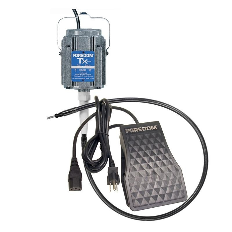 Hang-up 1/3 Hp Series Tx Motor With Plastic Foot Control