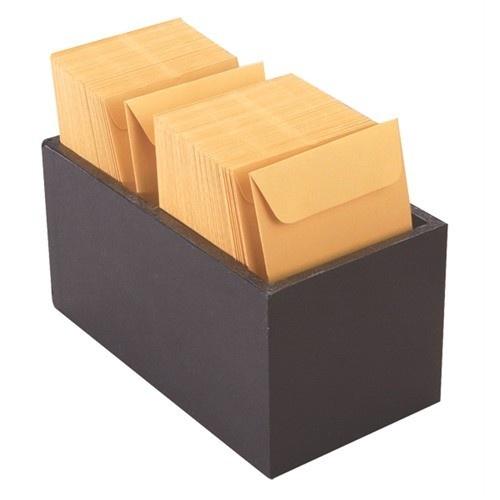 """Small Black Trays For Repair Envelopes, 4"""" L X 7.5"""" w"""