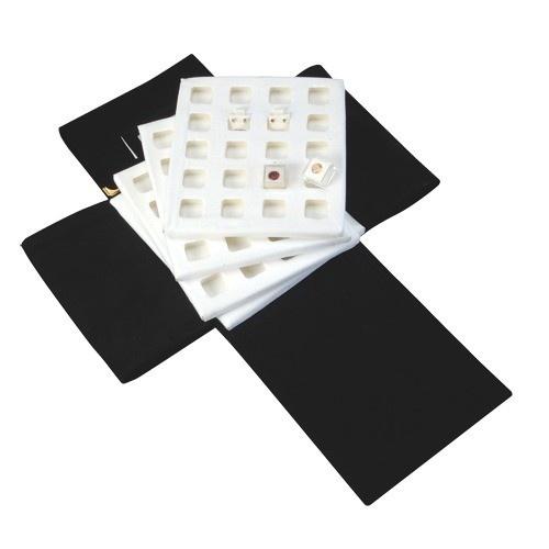 Italian Folder W/ 4 Inserts- White