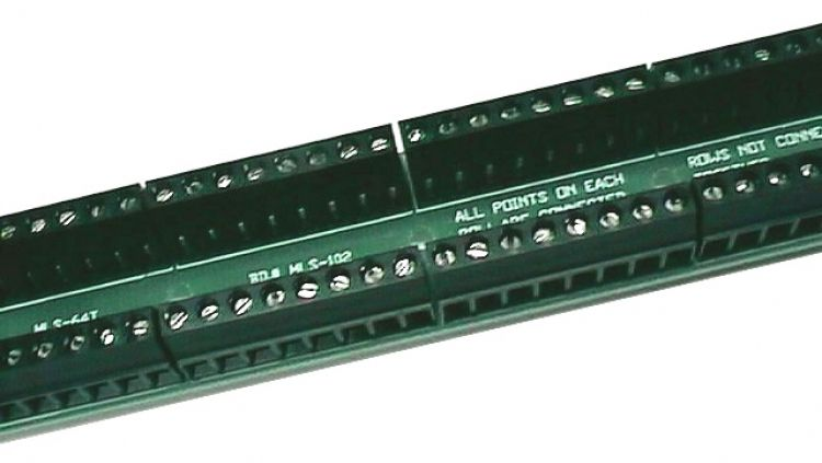 64 Position Screw Terminal Brd. (1) Is Used For Each 64 Points On A Pocket Pager System (this Is An Optional Item).