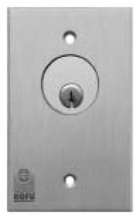 Key Switch-standard-spdt-maint. Less Cylinder-less Back Box.