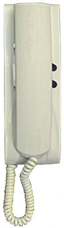 Wall Handset-White-Side Switch. Same As 8870 Except It Has A Squeeze Type Hookswitch On Handset Component
