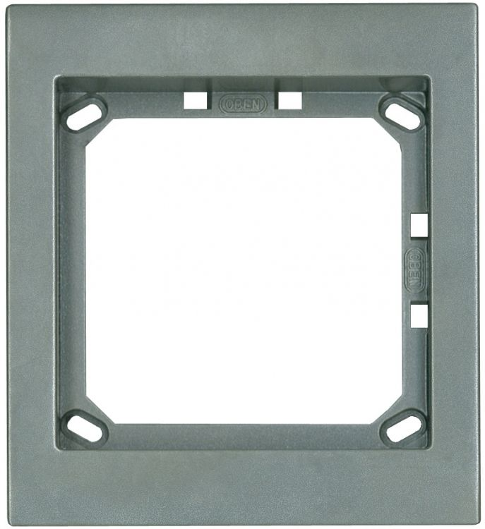 1hx1w Module Panel Frame-titan. Requires Upg1 Flush Box Or Apg1t Surface Box Includes 1 Mvrt Locking Strip.