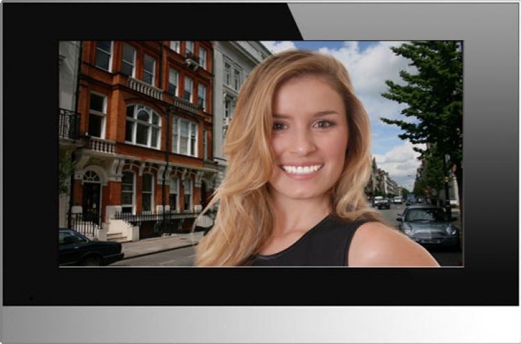 """Alphatouch 7.0"""" Touchscreen Video Monitor. Poe, Full Touchscreen Operation With Hands-free Communication."""