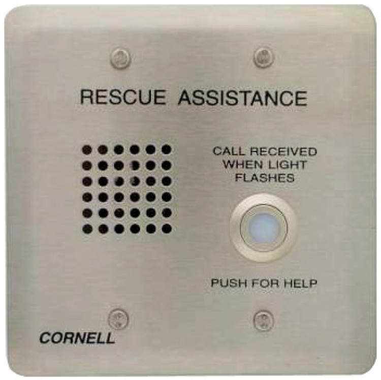 Audio Call Stat-vr-2gang Plate. Requires 2-gang Electrical Box Vandal-resistant Version For 4200 Series Systems.