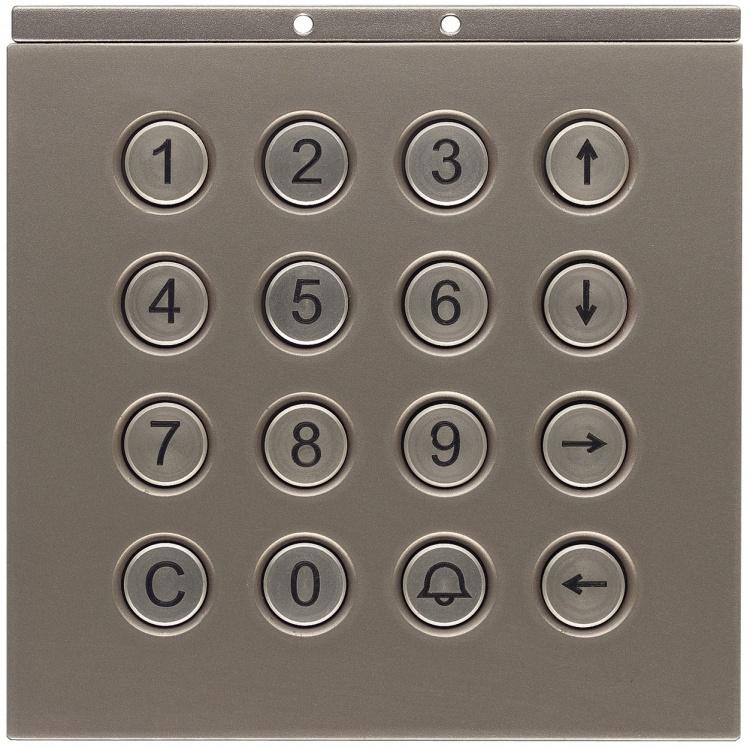Keypad Module-v/r-digitl-titan. Used With Db1t Display Module Bra Receiver Board And Brk16 Relay Card(s).