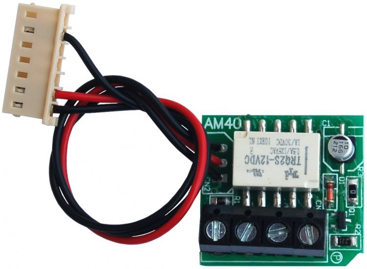 Aux. Relay For Qwikbus Station. Used With S.t.r. Qwikbus Type Stations To Provide A Dry Contact Closure.