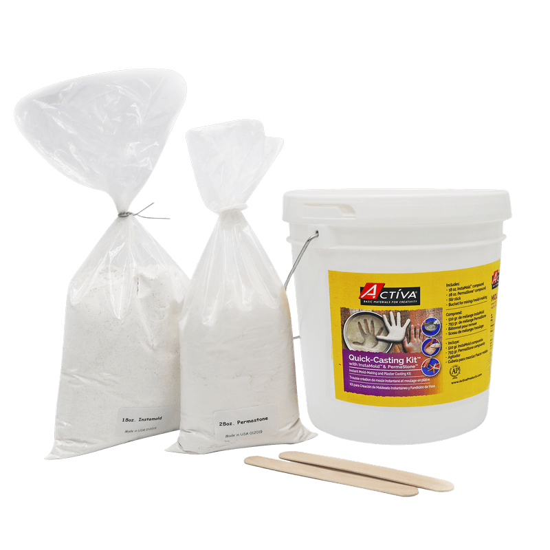 Quick-casting Kit™ With Instamold™ & Permastone™