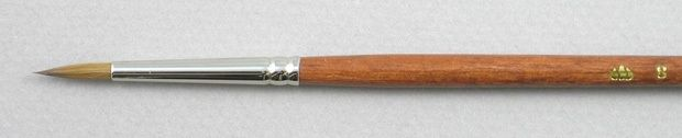 Trinity Brush Pure Red Sable 5105: Round Brush