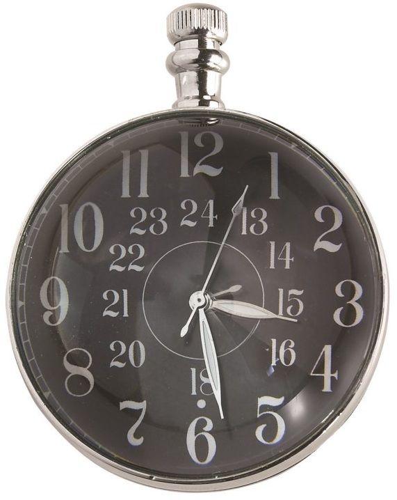 Eye Of Time Clock, Nickel