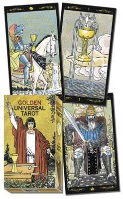 Golden Universal Tarot Deck By Roberto Deangelis
