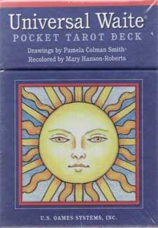Universal Waite Pocket Tarot Deck By Smith & Hanson-roberts