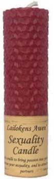 """4 1/4"""" Sexuality Lailokens Awen Candle"""