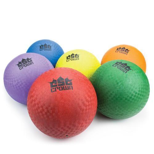 "Set Of Six (8.5"") Playground Ball"