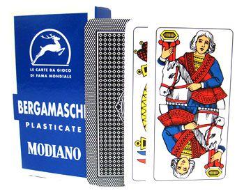 Deck Of Bergamasche Italian Regional Playing Cards