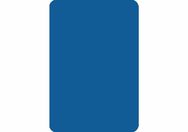 Cut Card - Bridge - Blue