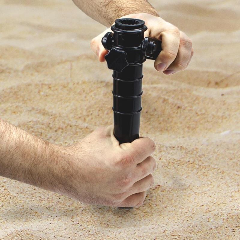 Plastic Beach Umbrella Sand Anchor, Blue