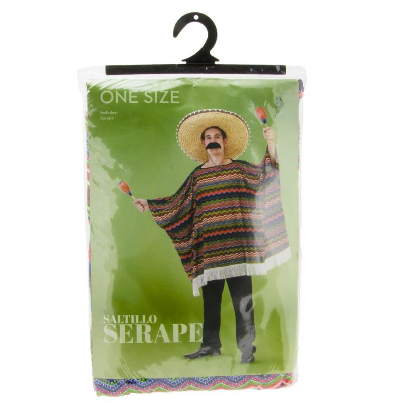 Festive Serape Adult Costume