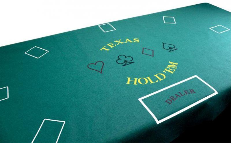 Texas Hold 'Em Felt Layout