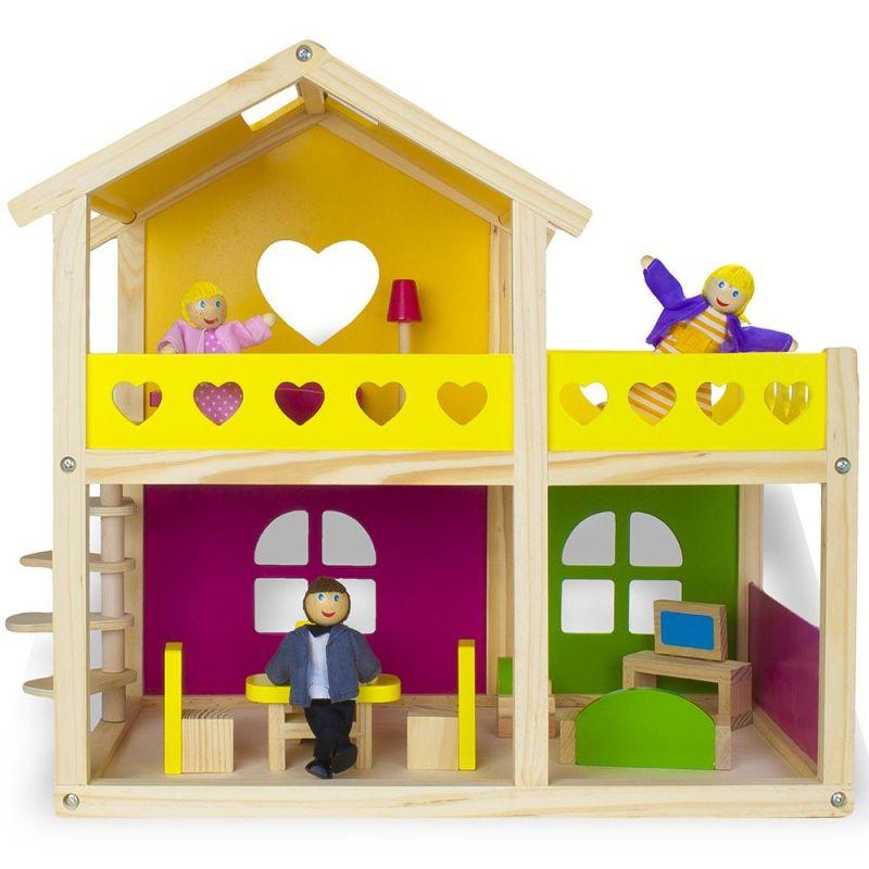 Wooden Wonders Cozy Cottage Dollhouse