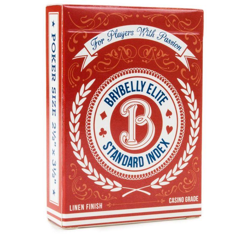 Red Brybelly Elite Medusa Deck - Wide Size / Reg. Index