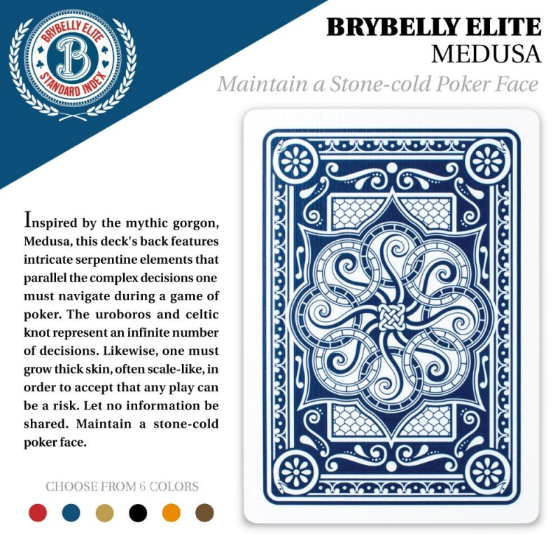 Brown Brybelly Elite Medusa Deck - Wide Size / Reg. Index