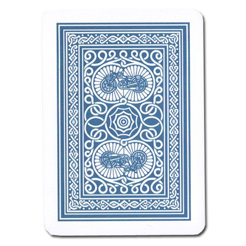Modiano Old Trophy Poker Playing Cards - Blue