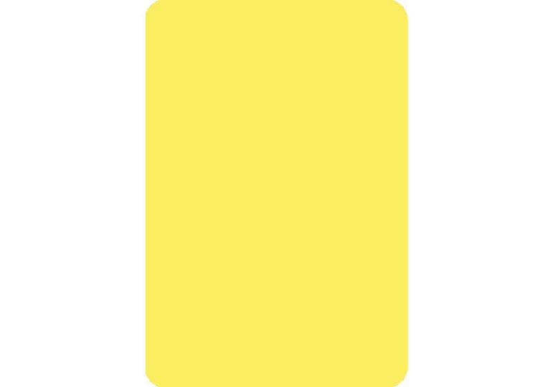 Cut Card - Bridge - Yellow